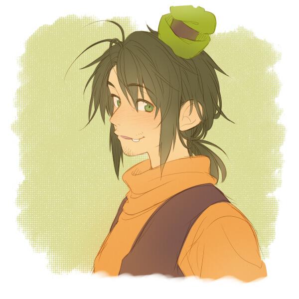 Tags: Anime, Kirita, Disney, Goofy, Green Hat, Green Headwear