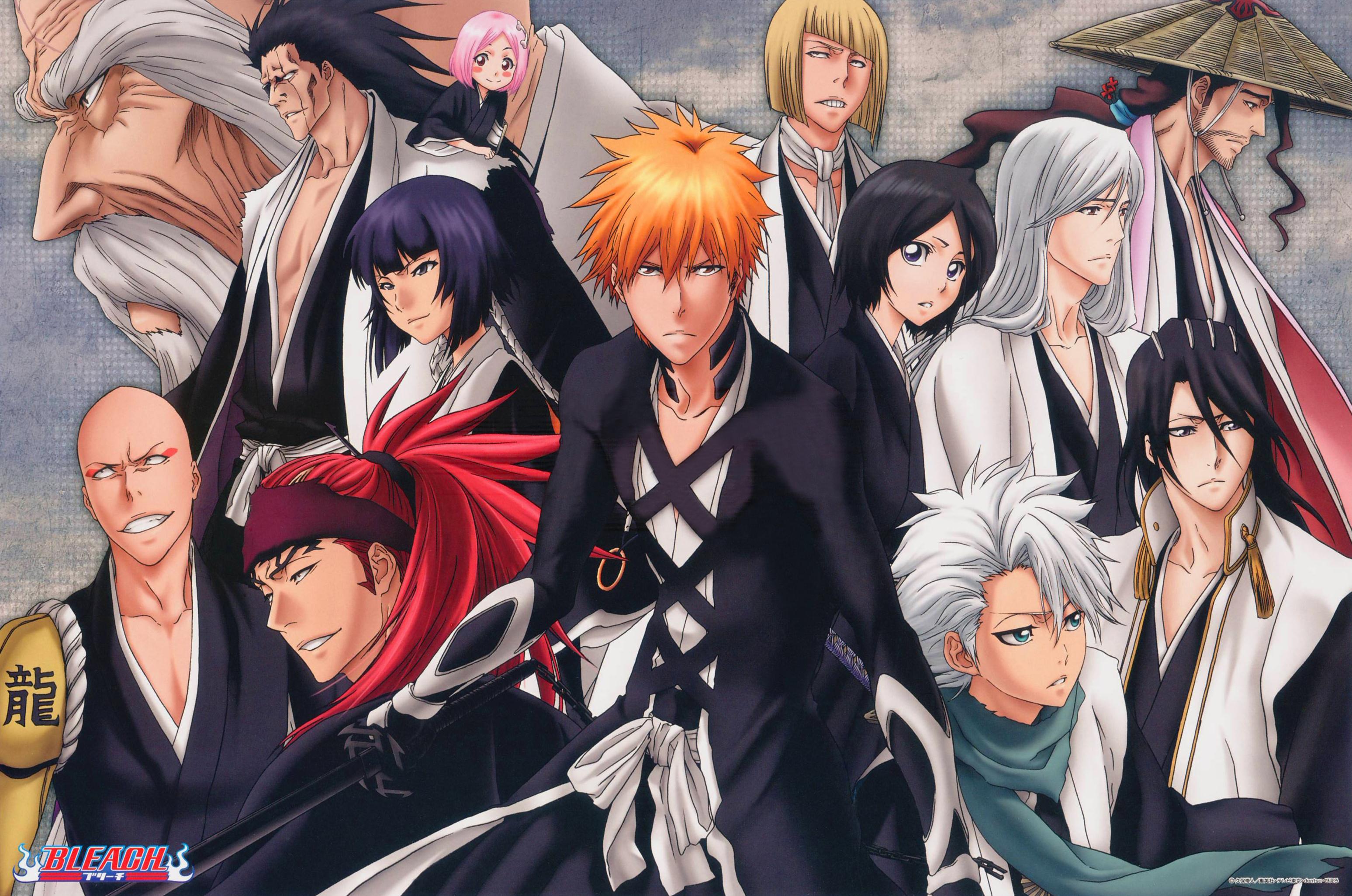 gotei 13 - bleach - image #1572647 - zerochan anime image board