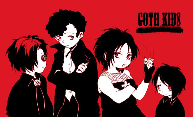 Goth Kids South Park Zerochan Anime Image Board Mobile