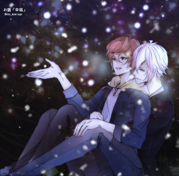 Tags: Anime, Pixiv Id 2073700, Granblue Fantasy, Lucifer (Shingeki no Bahamut), Sandalphon (Granblue Fantasy), Fanart From Pixiv, Pixiv, Fanart