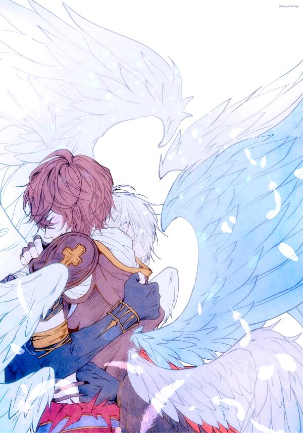 Tags: Anime, Pixiv Id 2073700, Granblue Fantasy, Sandalphon (Granblue Fantasy), Lucifer (Shingeki no Bahamut), Pixiv, Fanart, Fanart From Pixiv