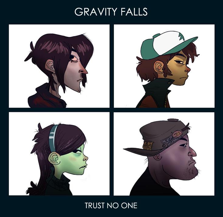 Gravity falls dipper pines robbie gravity falls mabel pines soos