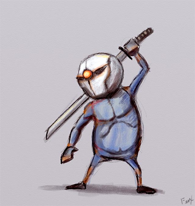 Tags: Anime, KONAMI (Studio), Metal Gear Solid, Gray Fox, Ninja Cyborg