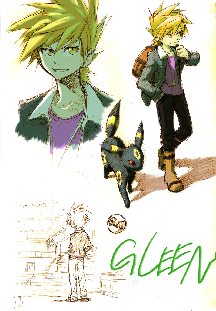 Green Pok 233 Mon Gary Oak Pok 233 Mon Red Amp Green Mobile Wallpaper 1149716 Zerochan Anime