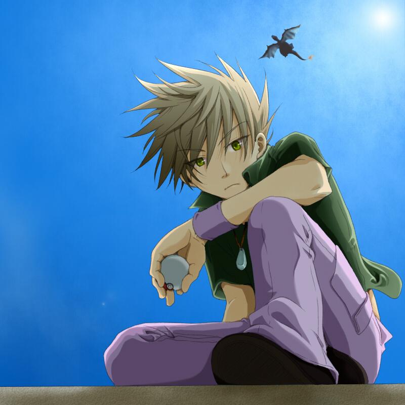 Green Pok 233 Mon Gary Oak Pok 233 Mon Red Amp Green Image 1375295 Zerochan Anime Image Board
