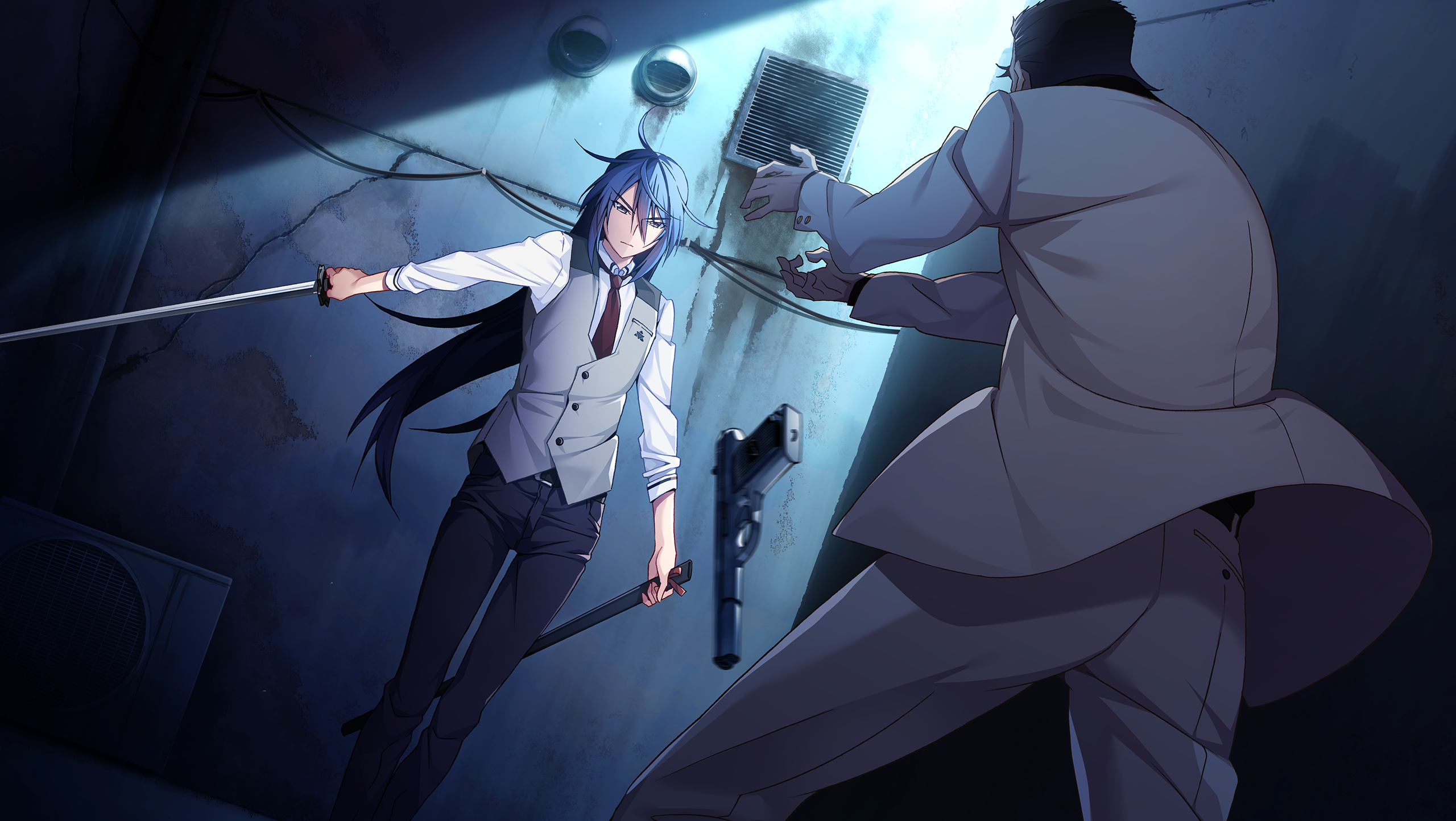 Trigger Anime Characters : Grisaia phantom trigger zerochan anime image board