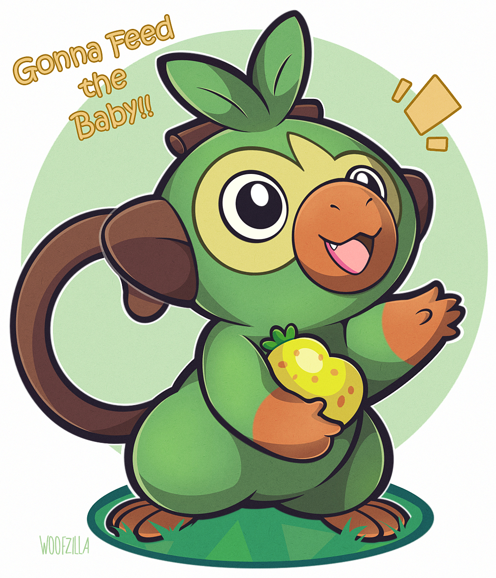 Grookey Pokemon Sword Shield Image 2509784 Zerochan Anime Image Board Want to discover art related to grookey? image 2509784 zerochan anime