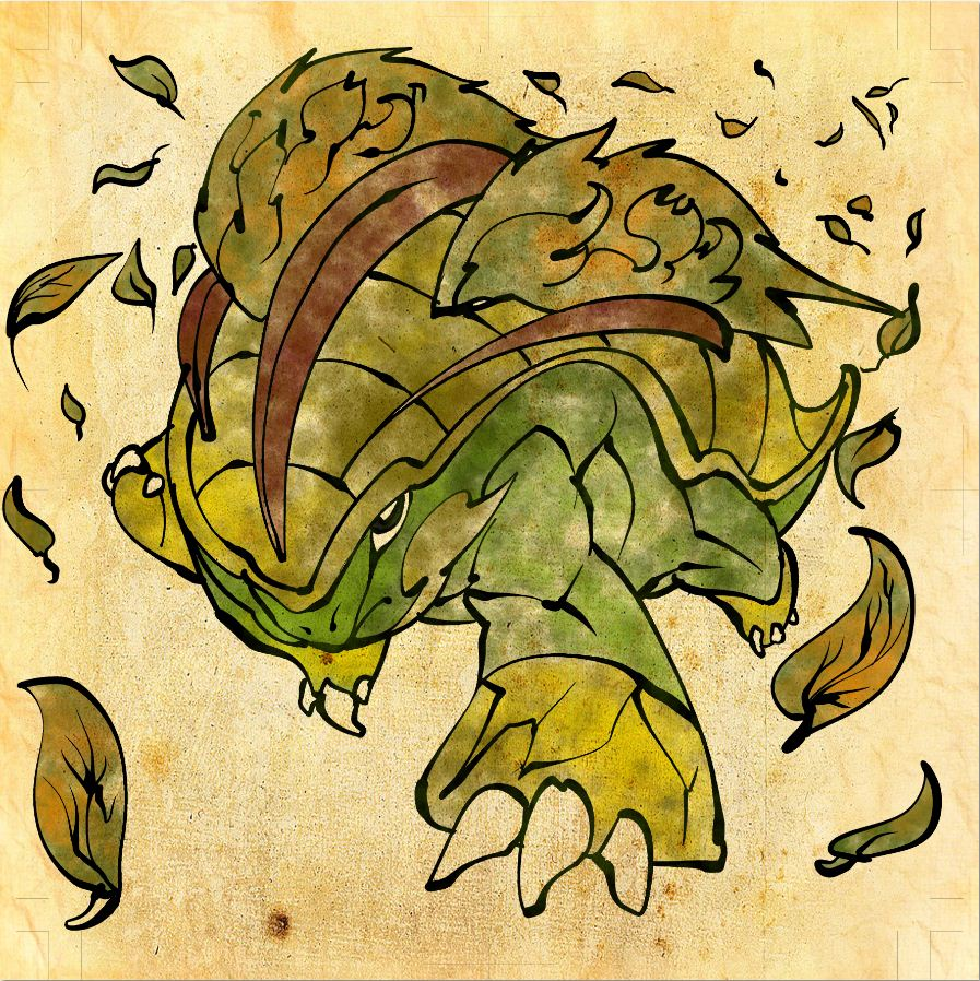 Grotle Pokémon Image 1011498 Zerochan Anime Image Board