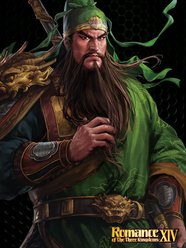 Tags: Anime, Romance of the Three Kingdoms, Dynasty Warriors, Guan Yu, Official Art