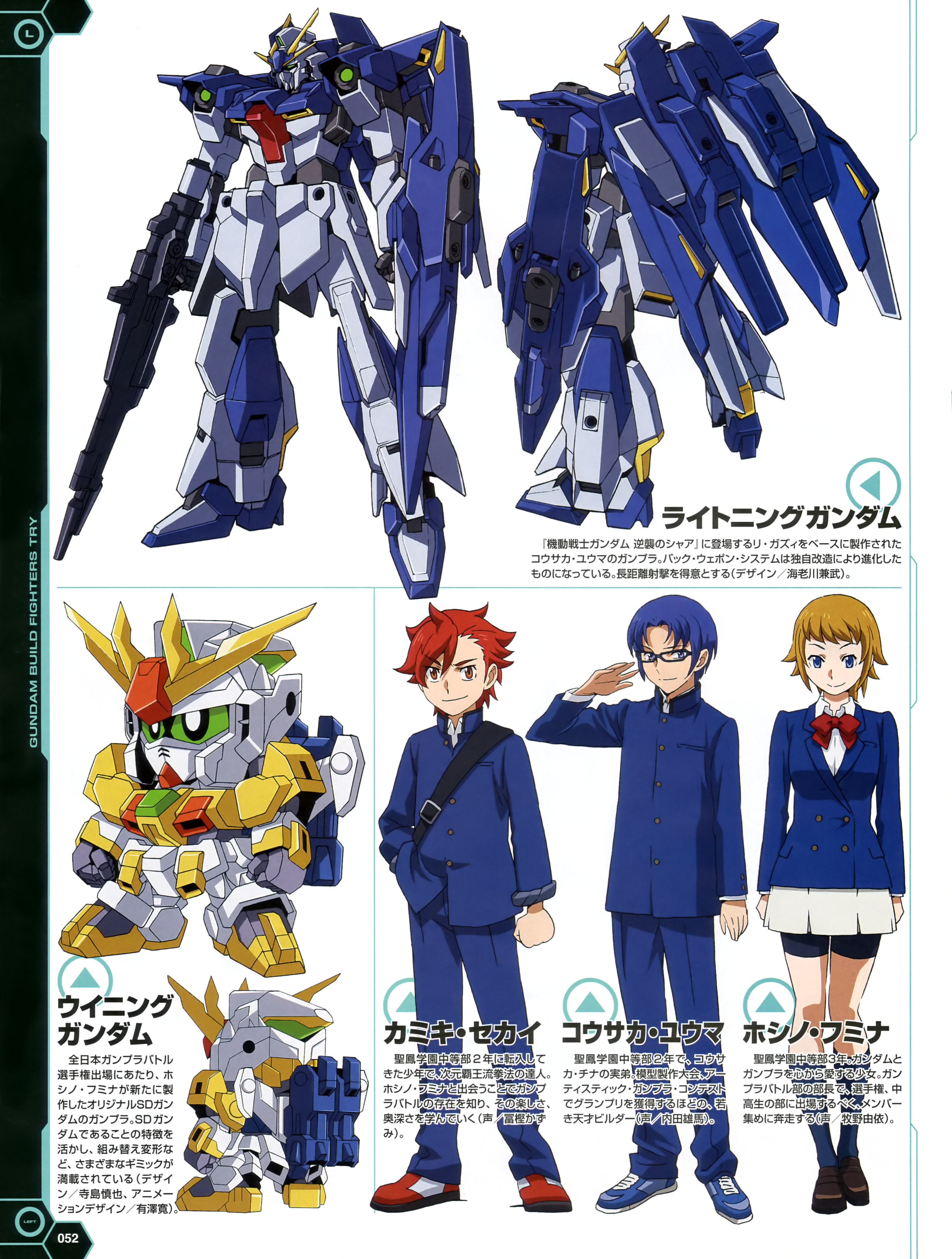 Gundam build fighters try image 1749257 zerochan anime for Domon gundam build fighters try