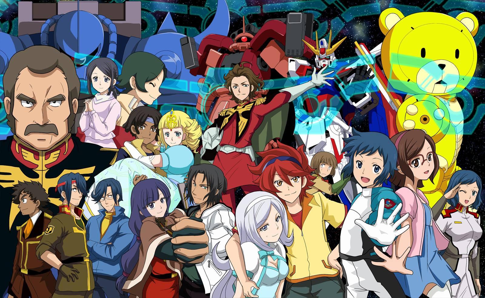 Aila jyrki inen gundam build fighters zerochan anime for Domon in gundam build fighters