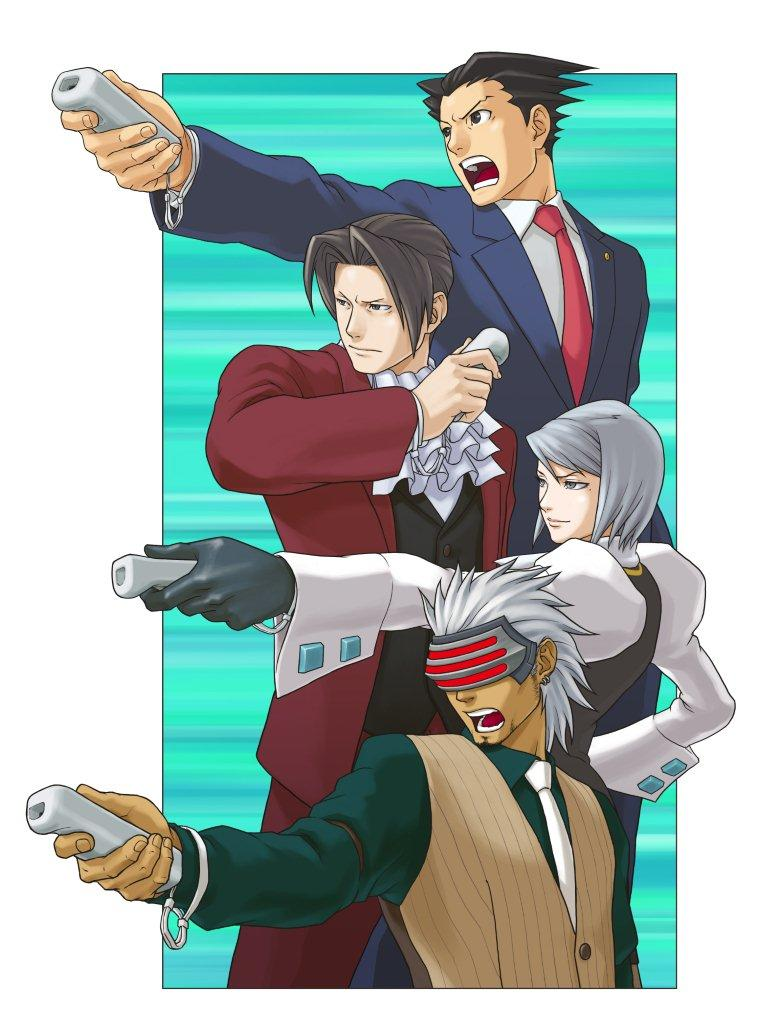 Godot Gyakuten Saiban Zerochan Anime Image Board