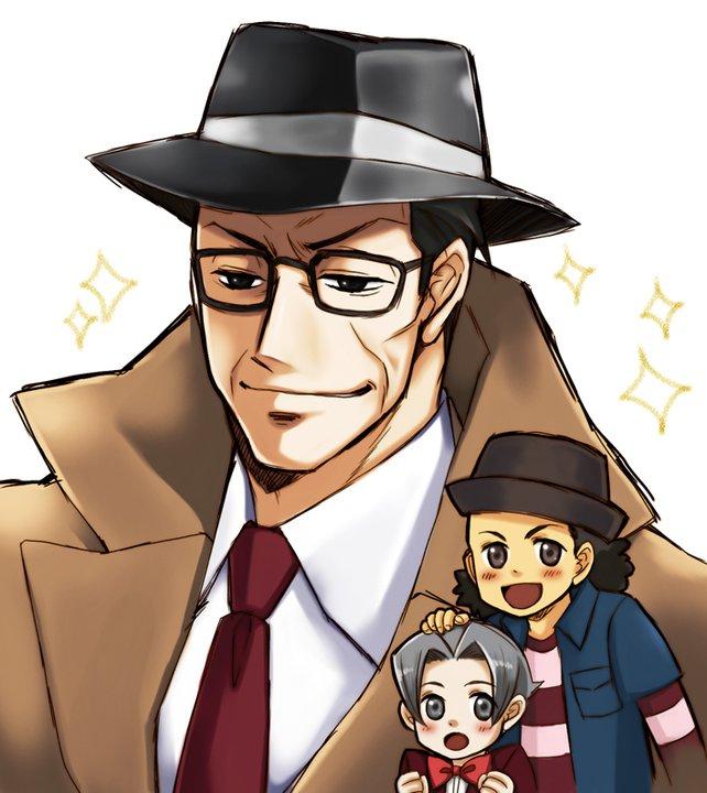 Tags: Anime, Pixiv Id 296095, Gyakuten Saiban, Mitsurugi Shin, Tateyuki Shigaraki, Mitsurugi Reiji, Phoenix Wright: Ace Attorney