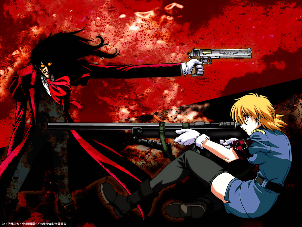 HELLSING Wallpaper #61665 - Zerochan Anime Image Board