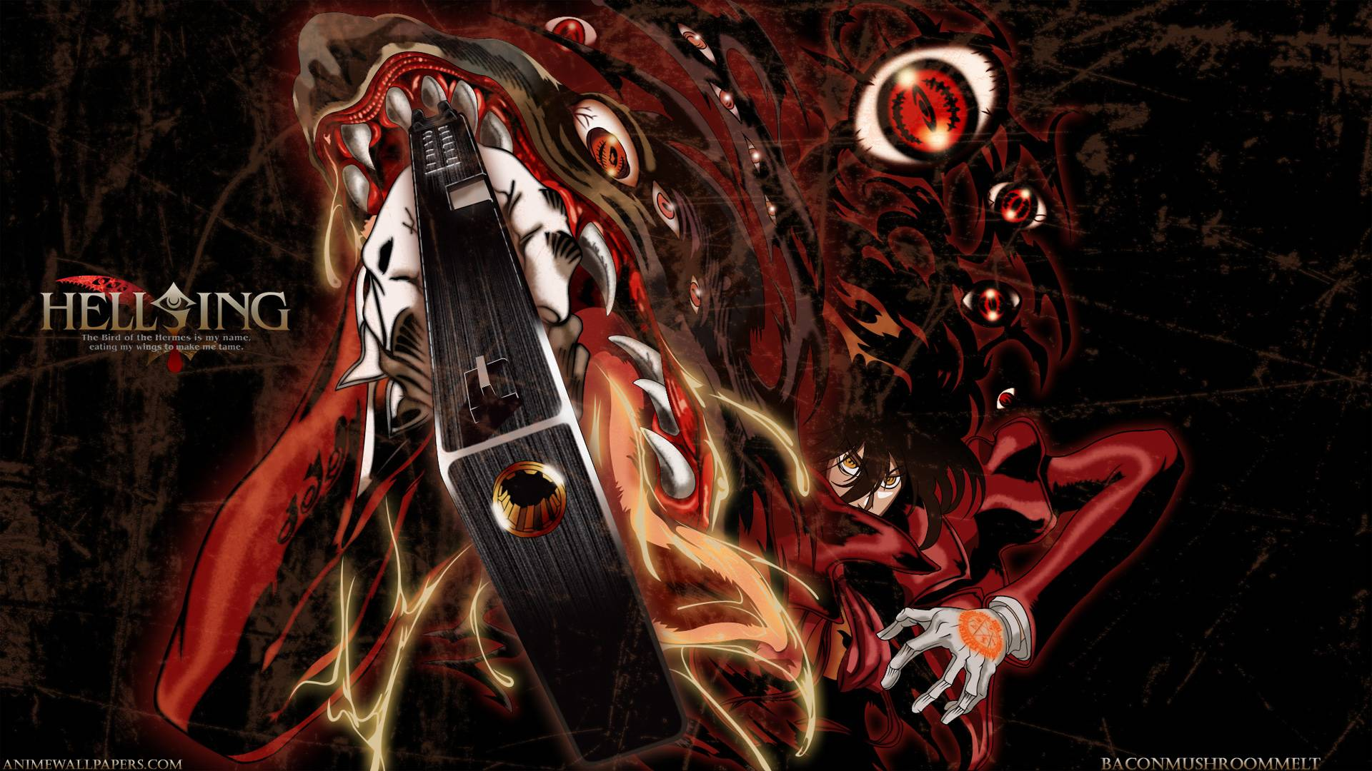 Hellsing Hd Wallpaper Zerochan Anime Image Board