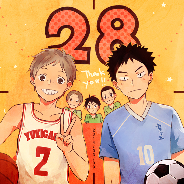 Tags: Anime, Ayame (Pixiv1250681), Haikyuu!!, Mori (Haikyuu!!), Sekimukai Kouji, Izumi Yukitaka, Suzuki (Haikyuu!!), Kawashima (Haikyuu!!), Fanart From Pixiv, Pixiv, Fanart
