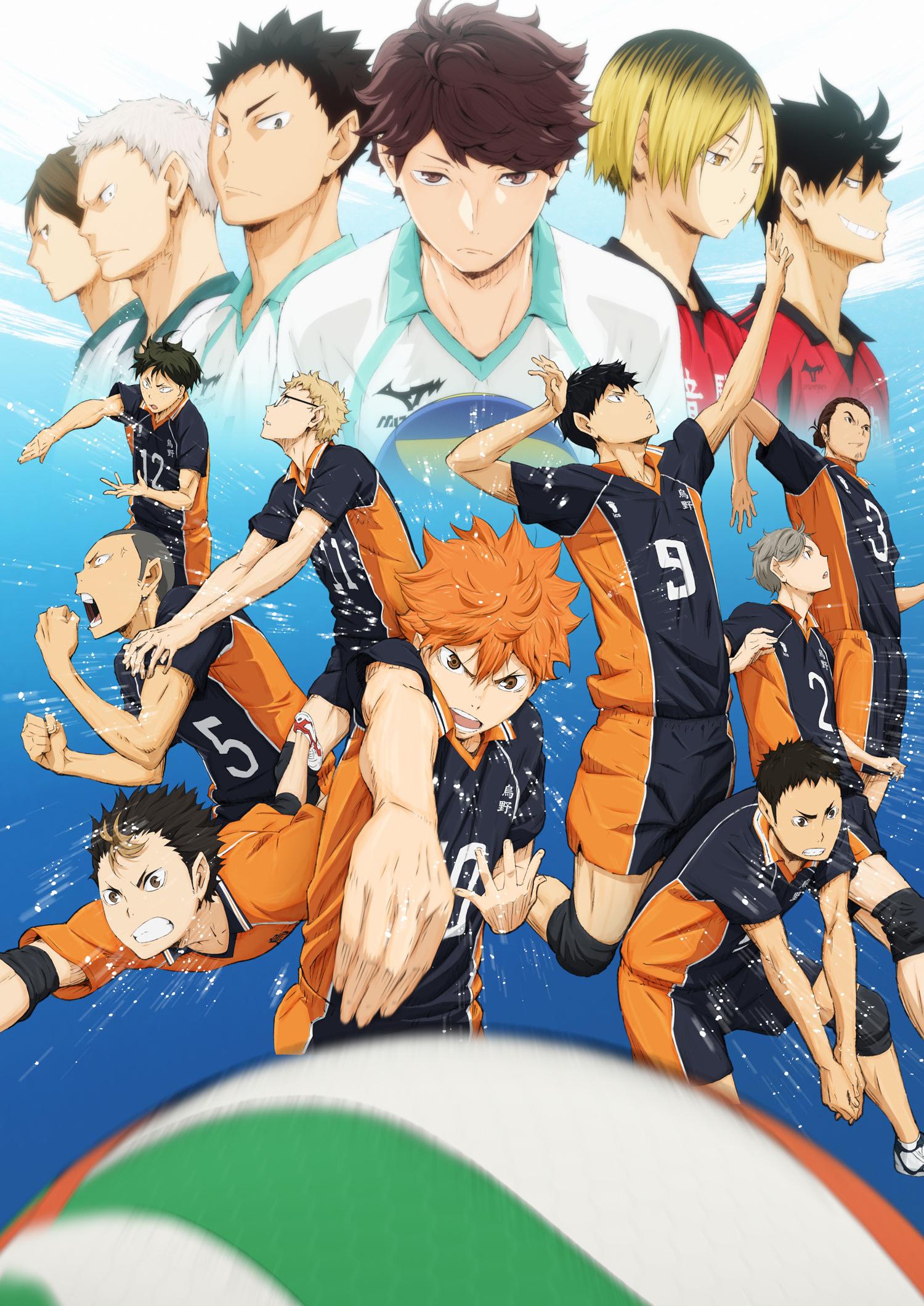 Волейбол!! / Haikyuu!! 1 сезон
