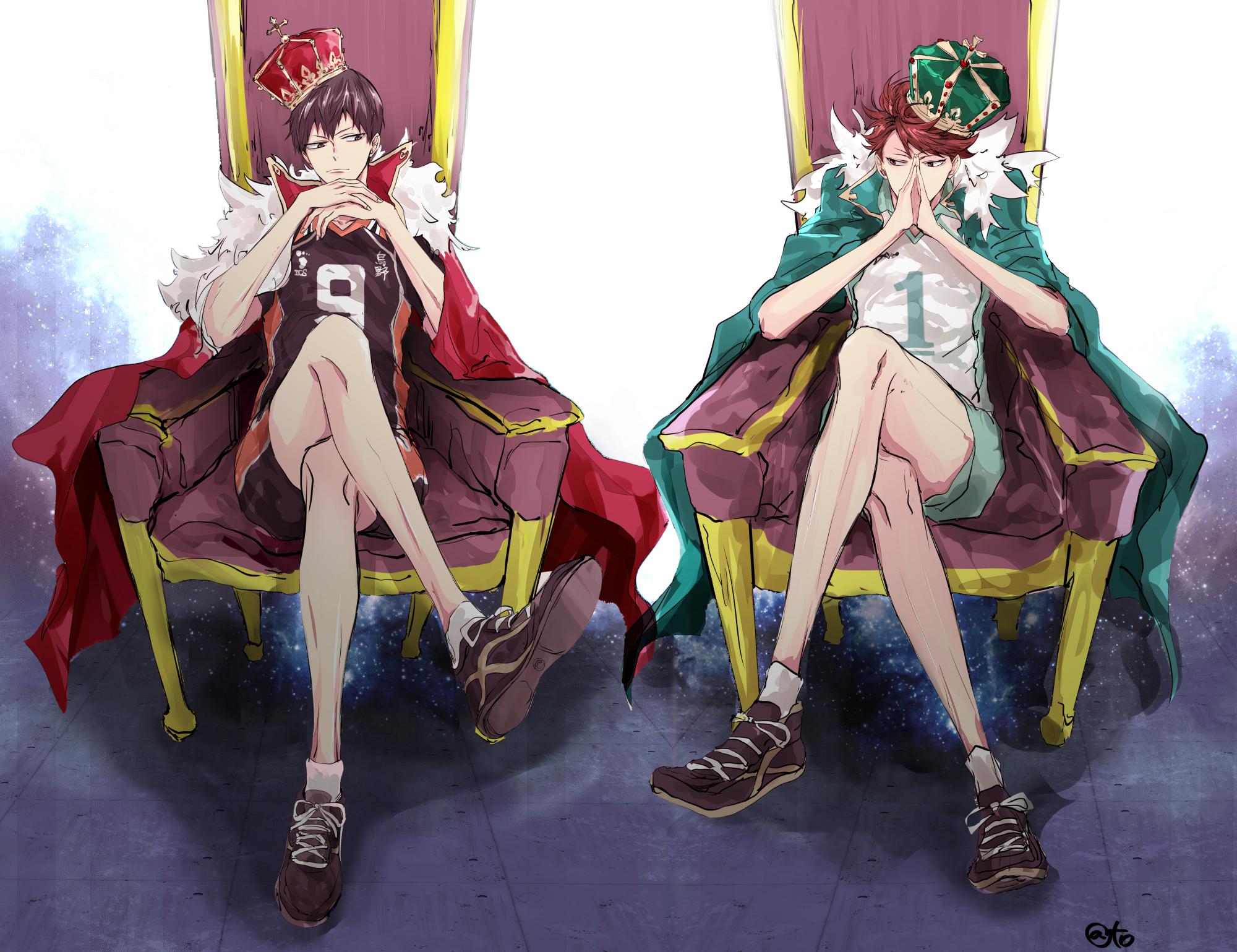 Pics photos king throne chair - Haikyuu 1776449 Zerochan