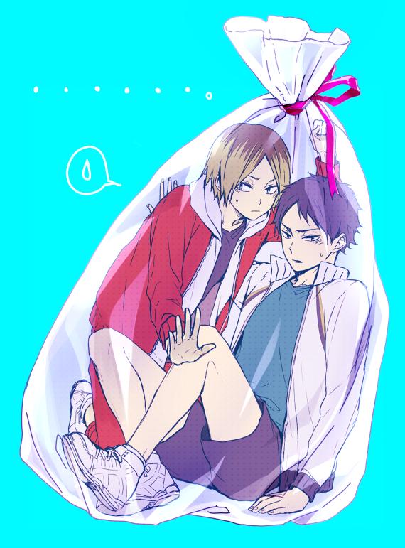 Tags: Anime, Pixiv Id 4390939, Haikyuu!!, Kozume Kenma, Akaashi Keiji, Pixiv, Fanart, Mobile Wallpaper, Fanart From Pixiv, PNG Conversion