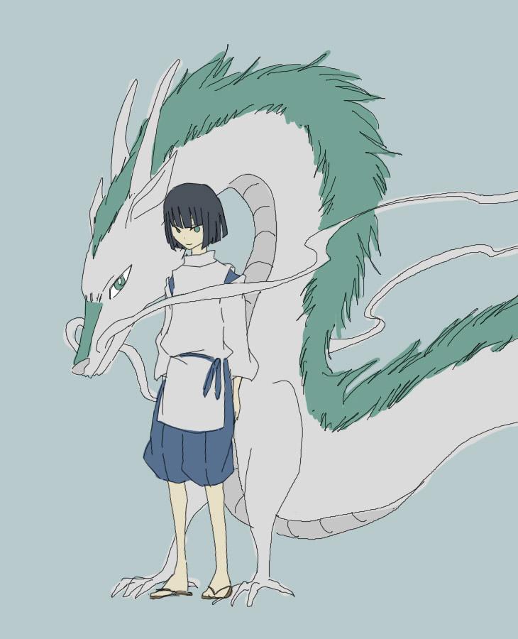 Dragon Sen To Chihiro No Kamikakushi Spirited Away Page 4 Zerochan Anime Image Board