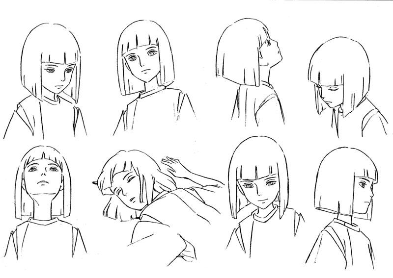 spirited away coloring pages - spirited away anime coloring pages coloring pages