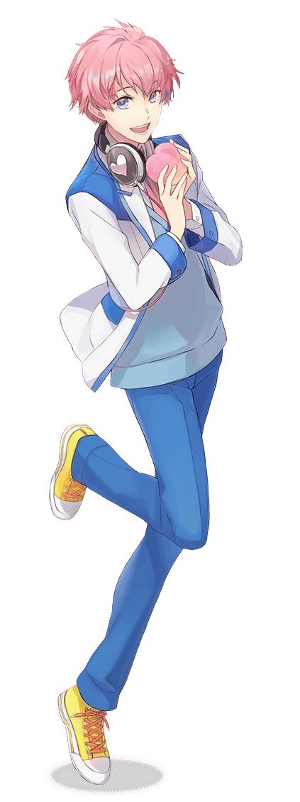 Tags: Anime, Rahwia Kim, Rejet, FRESH KISS 100%, Hakuhou Ikuto, Peach (Fruit), Yellow Footwear, PNG Conversion, Official Art