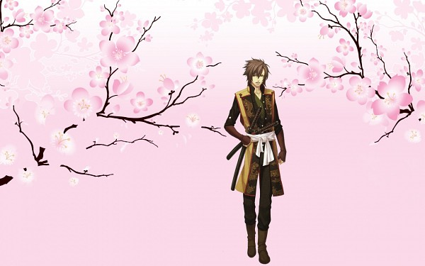 Tags: Anime, Wallpaper, Hakuouki Shinsengumi Kitan, Okita Souji, Character Request