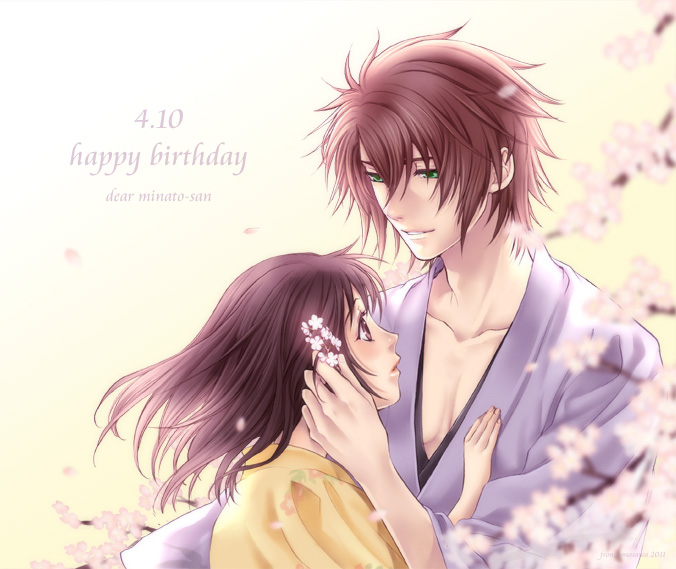 Tags: Anime, IDEA FACTORY, Hakuouki Shinsengumi Kitan, Okita Souji (Hakuouki), Yukimura Chizuru, Demon Of The Fleeting Blossom