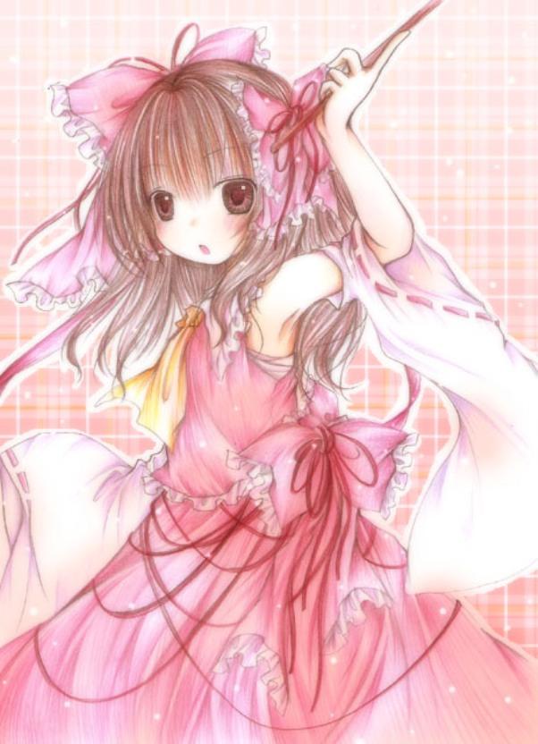 Tags: Anime, Kasuga Sunao, Touhou, Hakurei Reimu, Reimu Hakurei