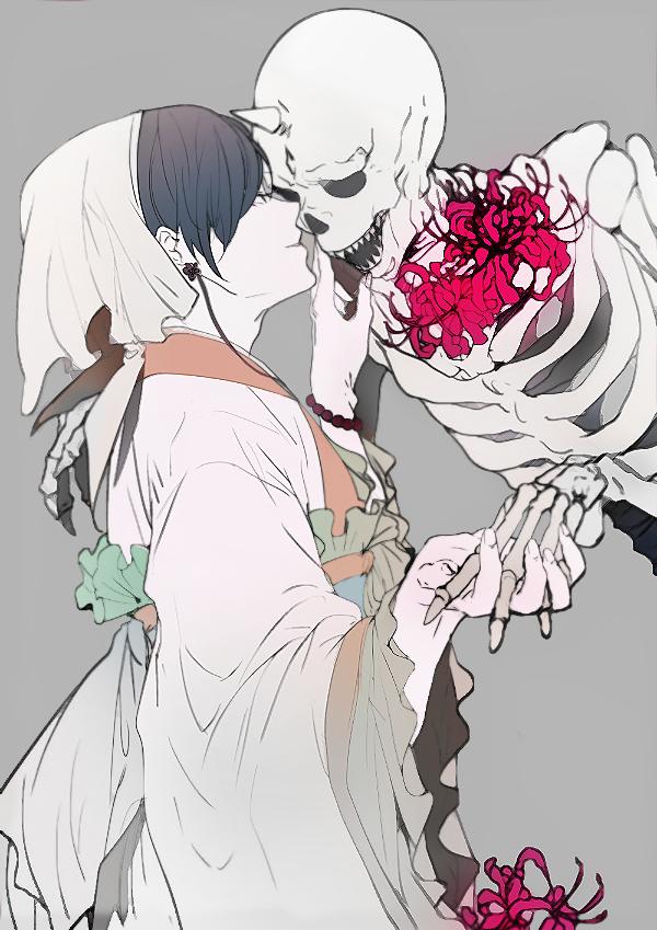 Tags: Anime, Ihirotang, Hoozuki no Reitetsu, Hakutaku (Hoozuki no Reitetsu), Hoozuki (Hoozuki no Reitetsu), Mobile Wallpaper, Fanart From Pixiv, Pixiv, Fanart