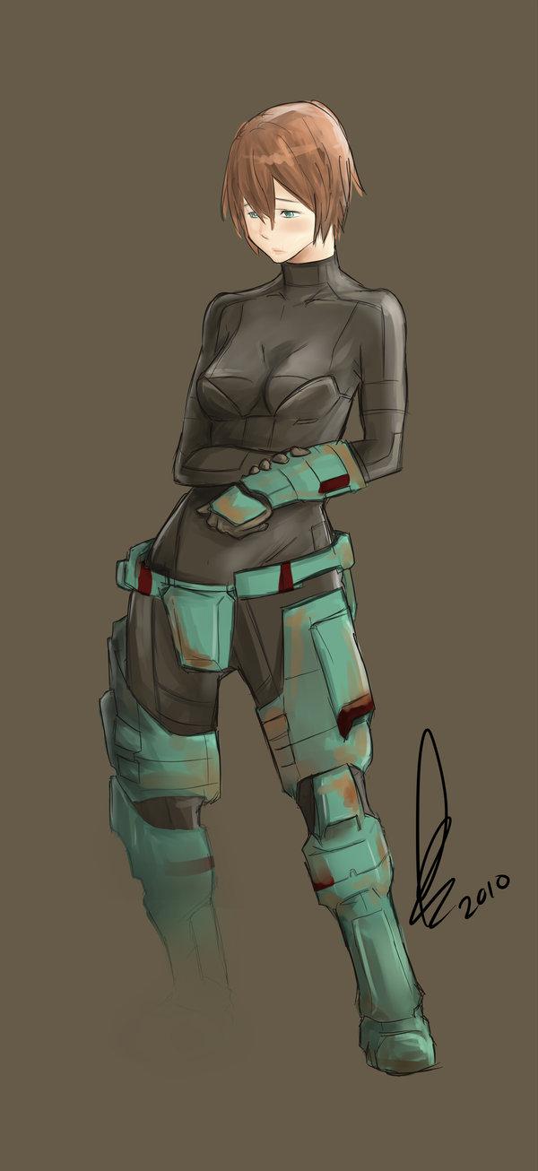 This is a spartan female - 3 part 3