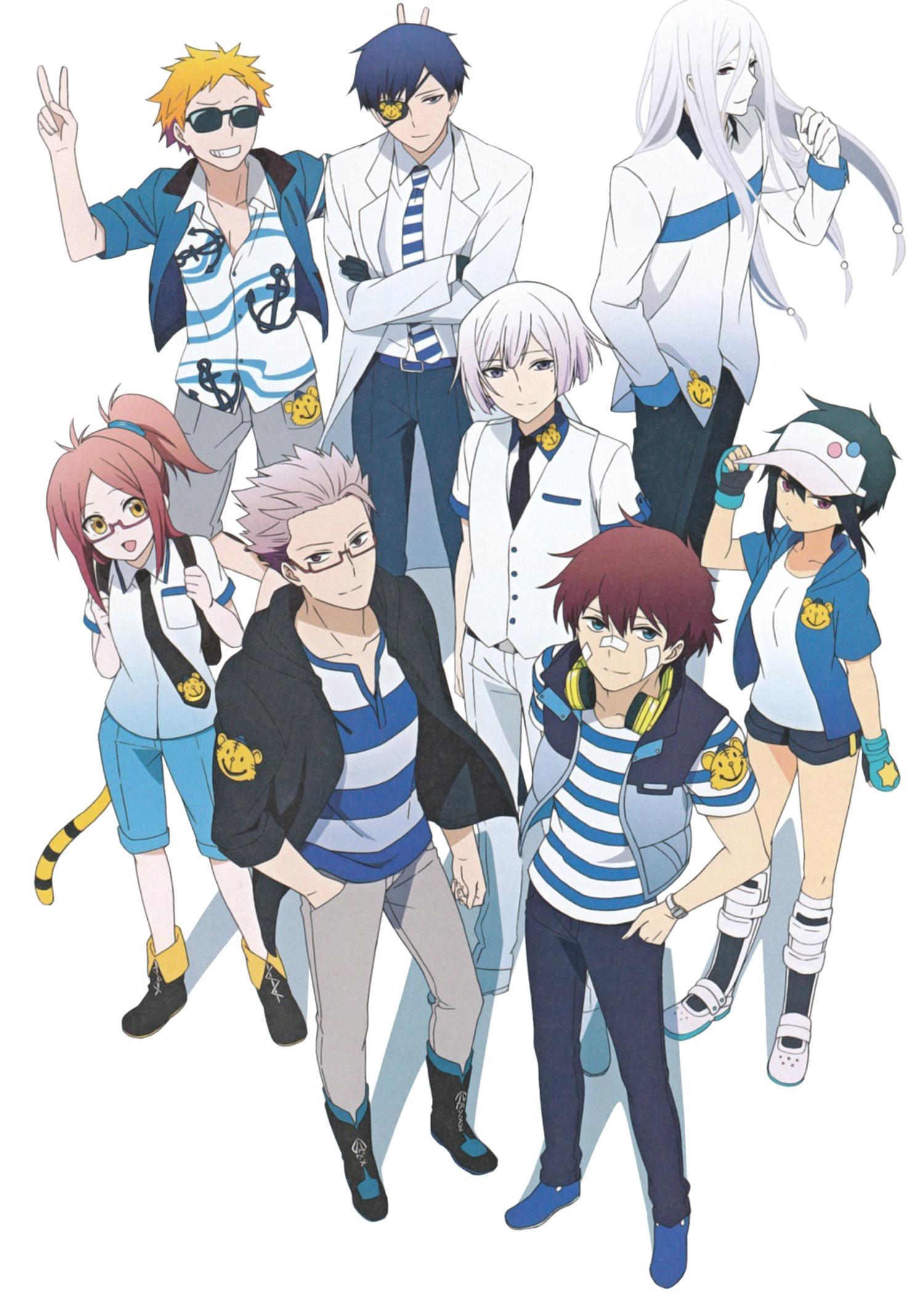 Hamatora Mobile Wallpaper 1719771 Zerochan Anime Image