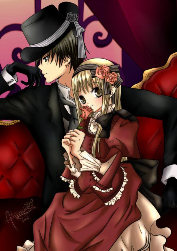 Tags: Anime, Hisamu Oto, Hana to Akuma, Hana (Hana to Akuma), Vivi (Hana to Akuma), Colorization, deviantART