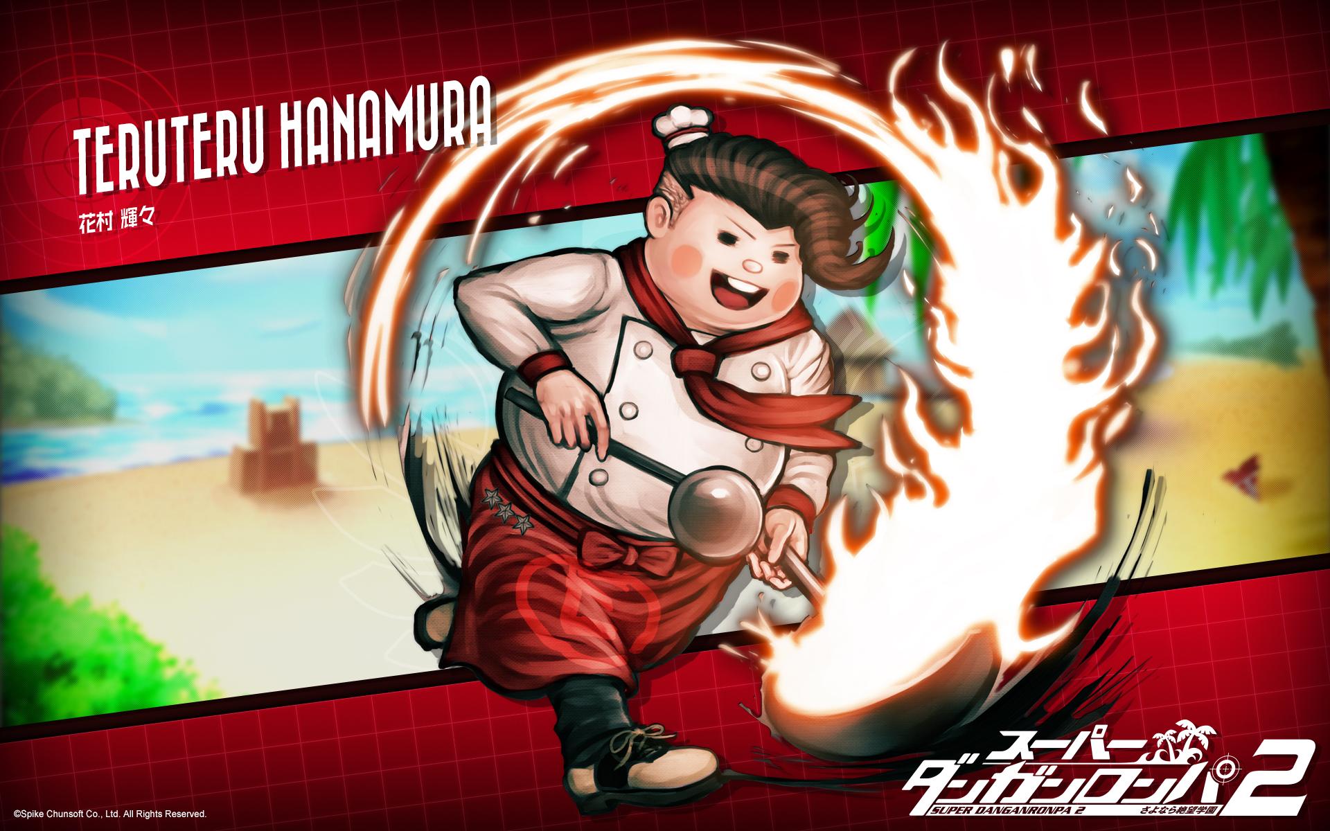 Hanamura Teruteru Super Danganronpa 2 Wallpaper 1663489