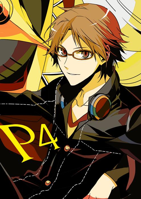 Tags: Anime, ryugo, Shin Megami Tensei: PERSONA 4, Hanamura Yousuke, Mobile Wallpaper