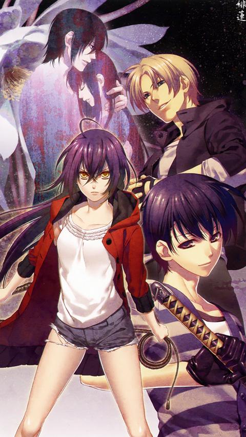 Tags: Anime, Kazuki Yone, IDEA FACTORY, Hanaoni, Kitou Kaki, Asagiri Kanna, Mobile Wallpaper, Official Art