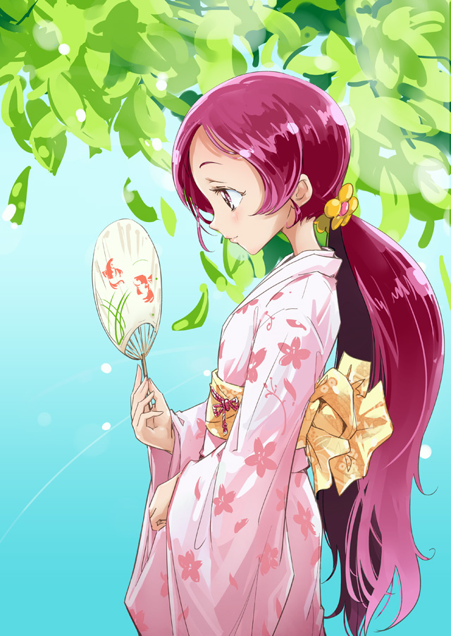 Tags: Anime, Mousoup, Heartcatch Precure!, Hanasaki Tsubomi, Fanart, Fanart From Pixiv, Pixiv