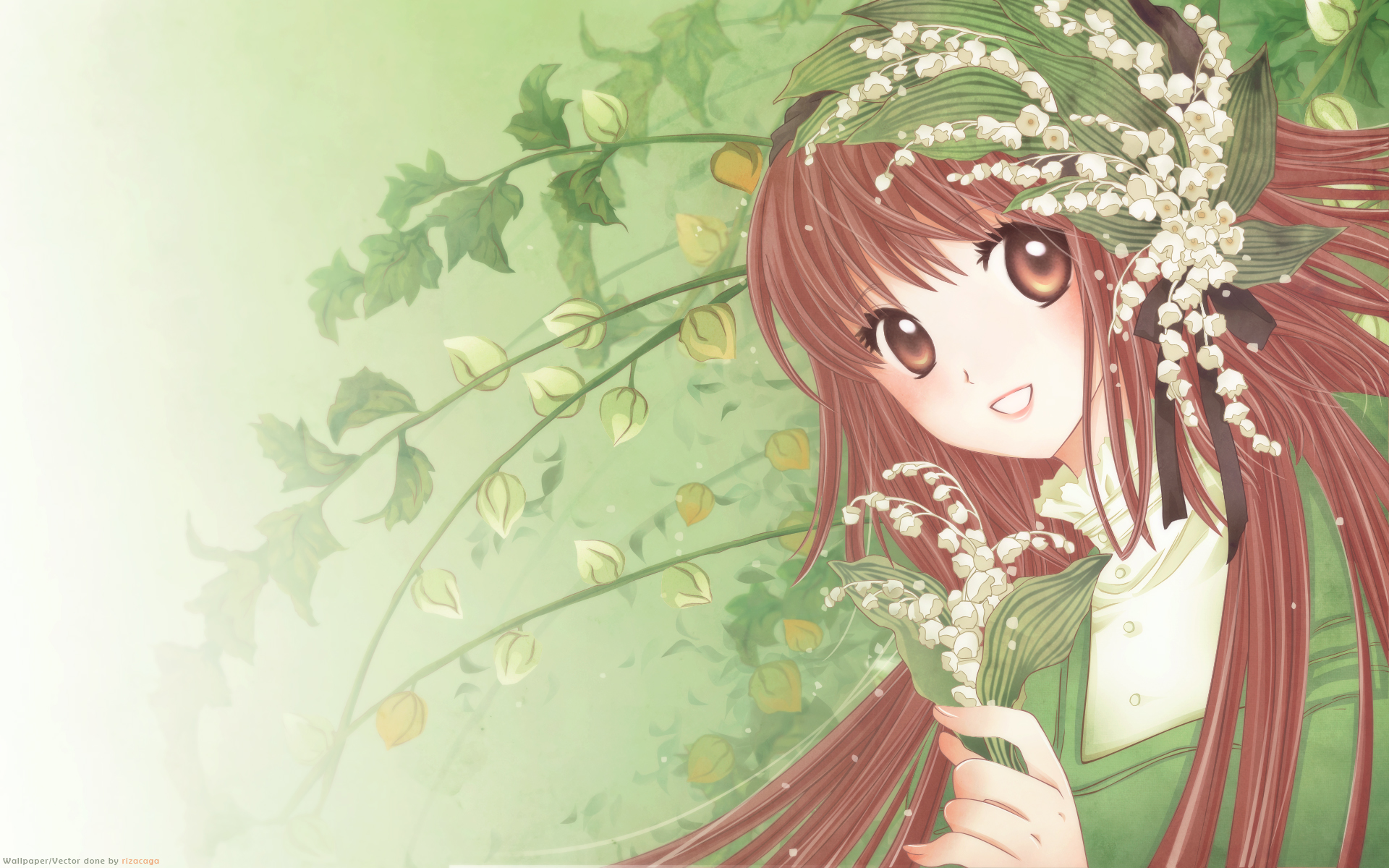 Tags Anime Kobato Hanato Kobato Lily Of The Valley Wallpaper