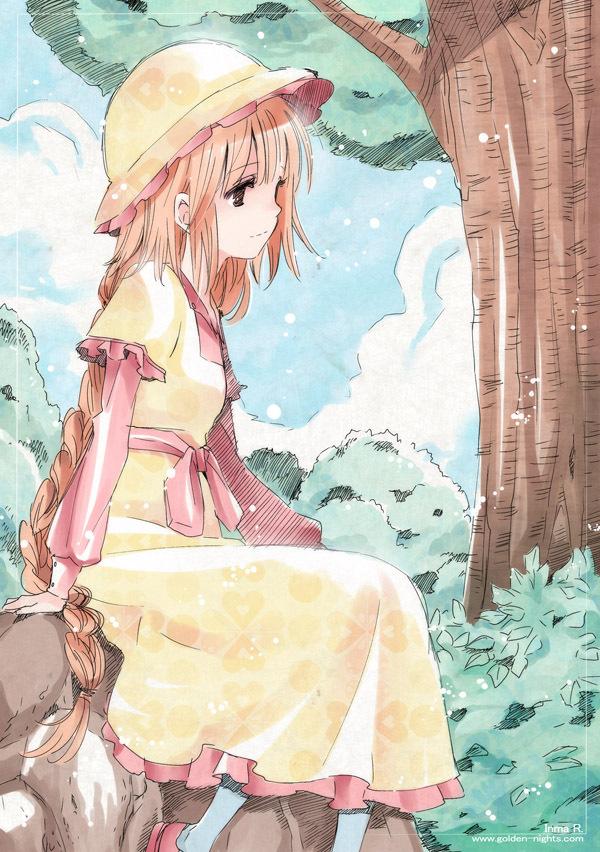 Tags: Anime, Inma R., Kobato., Hanato Kobato, Pixiv, Mobile Wallpaper, Fanart