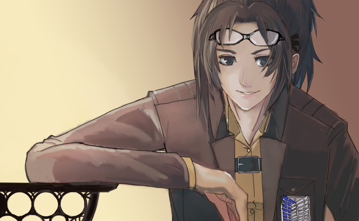 Hange Zoe Hanji Zoe Attack On Titan Image 1513318 Zerochan Anime Image Board