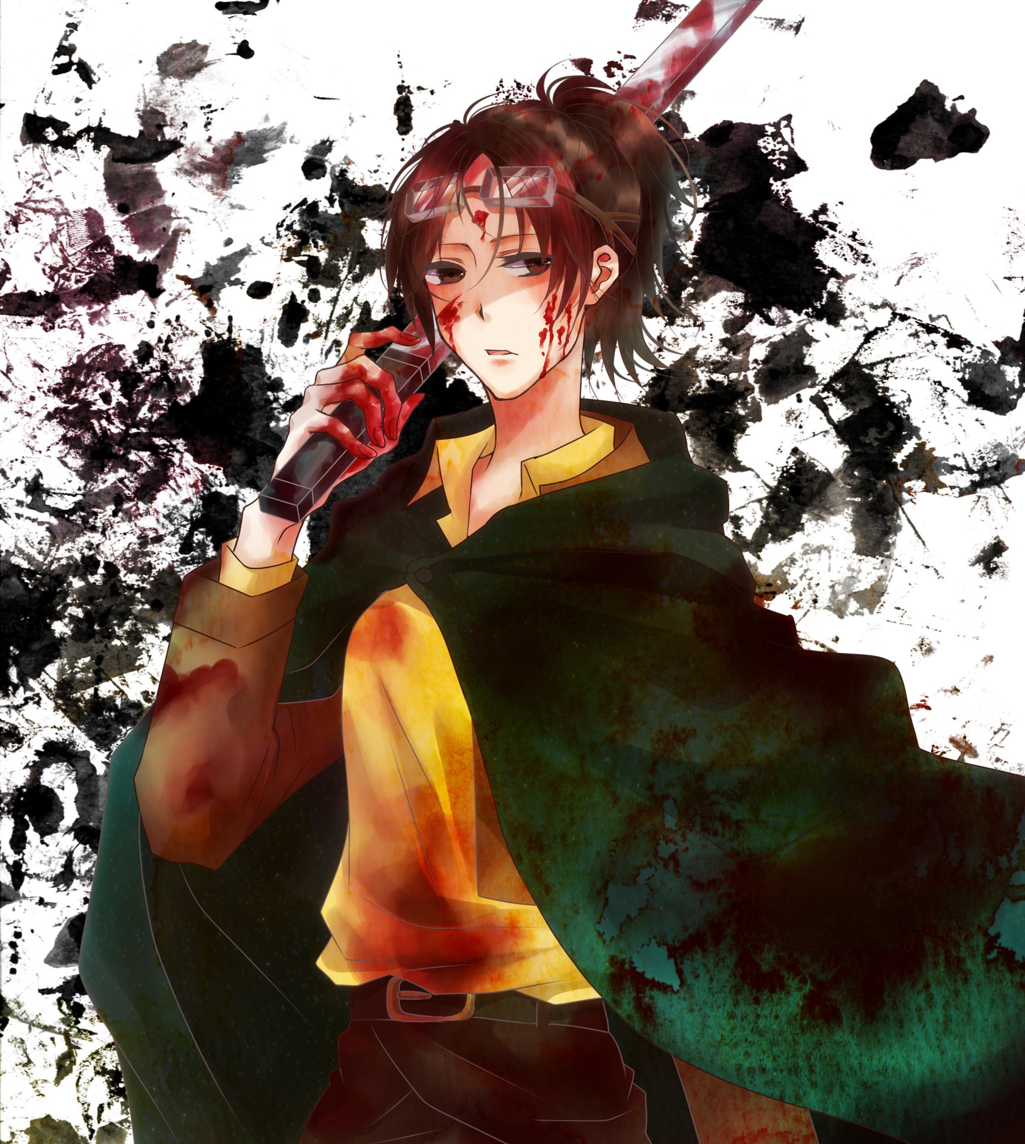 Hange Zoe Hanji Zoe Attack On Titan Image 1649549 Zerochan Anime Image Board