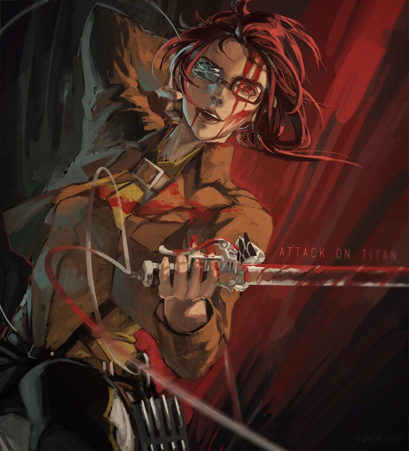 Hange Zoe Hanji Zoe Attack On Titan Zerochan Anime Image Board