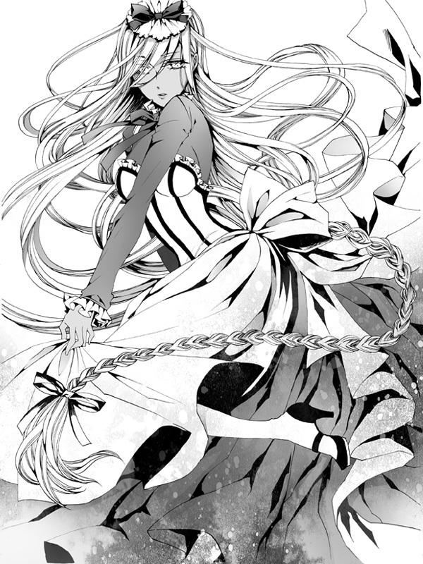 Tags: Anime, Toboso Yana, Veni Sakura, Kuroshitsuji II, Kuroshitsuji, Hannah Anafeloz, Official Art