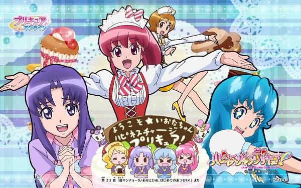Happinesscharge Precure Wallpaper 1851025 Zerochan Anime Image Board Mobile