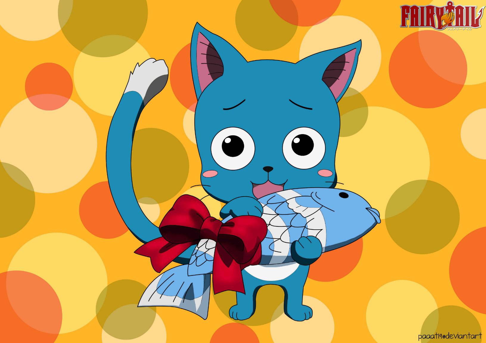 Happy Fish Fairy Tail Tags Anime Fairy Tail Happy