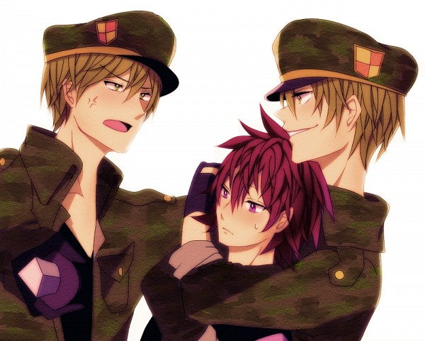 Tags: Anime, Dagger, Vein Pop, Military Hat, Happy Tree Friends, Flaky