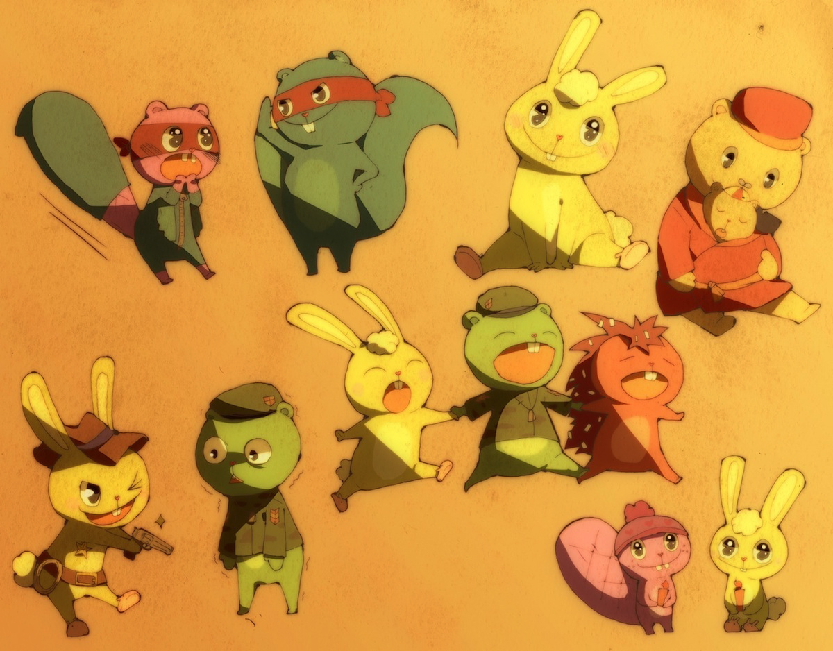 Happy Tree Friends Image #1165640 - Zerochan Anime Image Board
