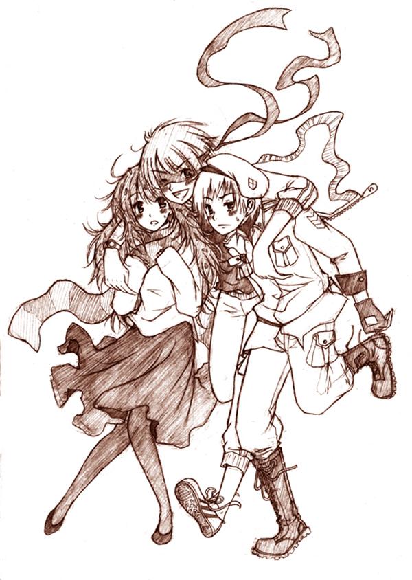 Tags: Anime, Inri, Happy Tree Friends, Flippy, Flaky, Splendid (HTF), Mobile Wallpaper