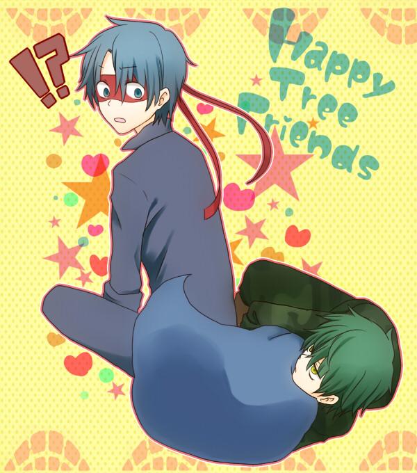 Tags: Anime, Uniikura, Happy Tree Friends, Flippy, Splendid (HTF), Camouflage Print