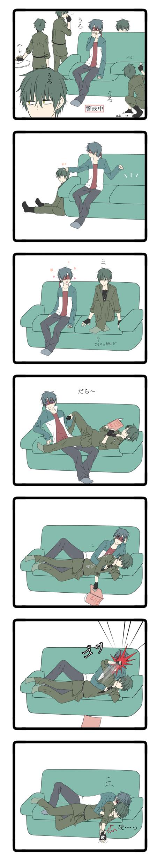 Tags: Anime, Uniikura, Happy Tree Friends, Flippy, Splendid (HTF), Comic